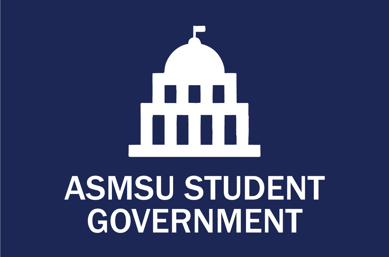 ASMSU Student Government button