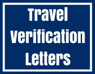 travel verification letters